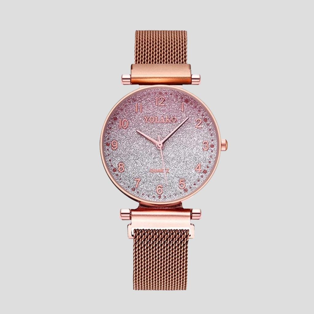 Women Magnet Buckle Quartz Watch